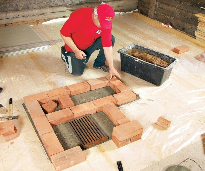 Консистенция огнеупорной смеси для кладки барбекю схема кладки барбекю печь