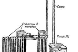 Схема центрального водяного отопления