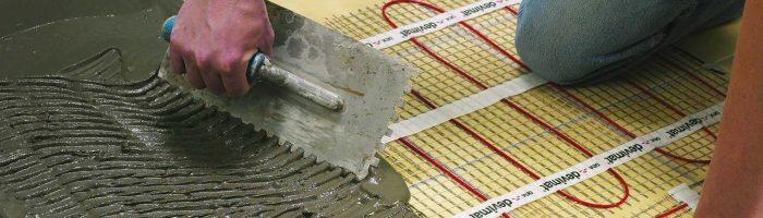 Заливка бетоном теплых полов