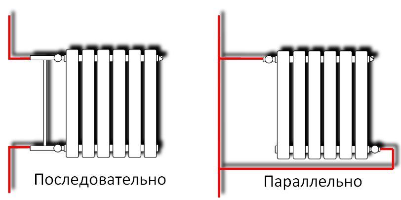 Схема примеров подключения
