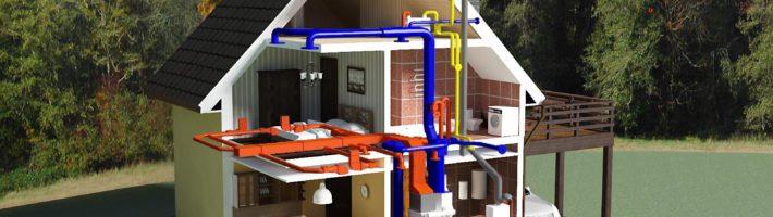 Устройство системы <i>отопления</i> отопления частного дома
