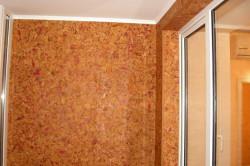 Пробковый утеплитель для стен