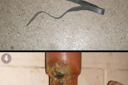 Ремонт радиатора от протечки при помощи резины