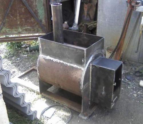 Отопление металл своими руками