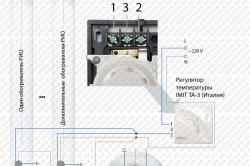 Схема ИК обогревателей