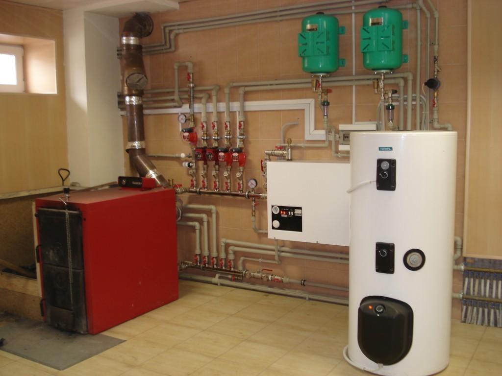 Отопление частного дома с газовым котлом своими