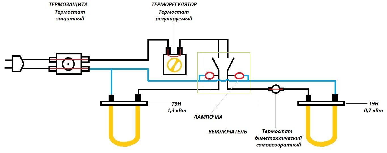 Электрический водонагреватель своими руками