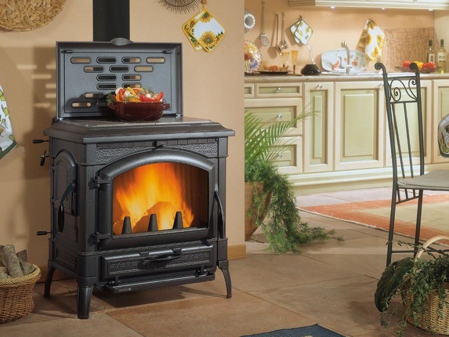 Как сделать отопление дома на дровах