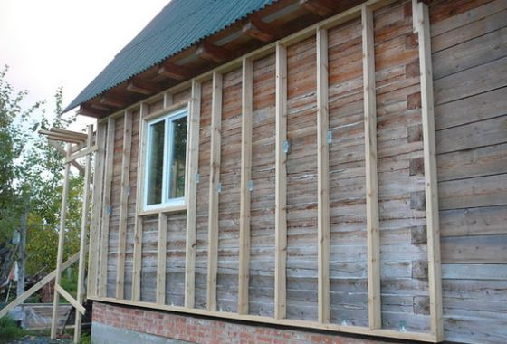 Теплоизоляция деревянного дома снаружи