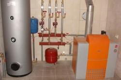 Напольный газовый котел