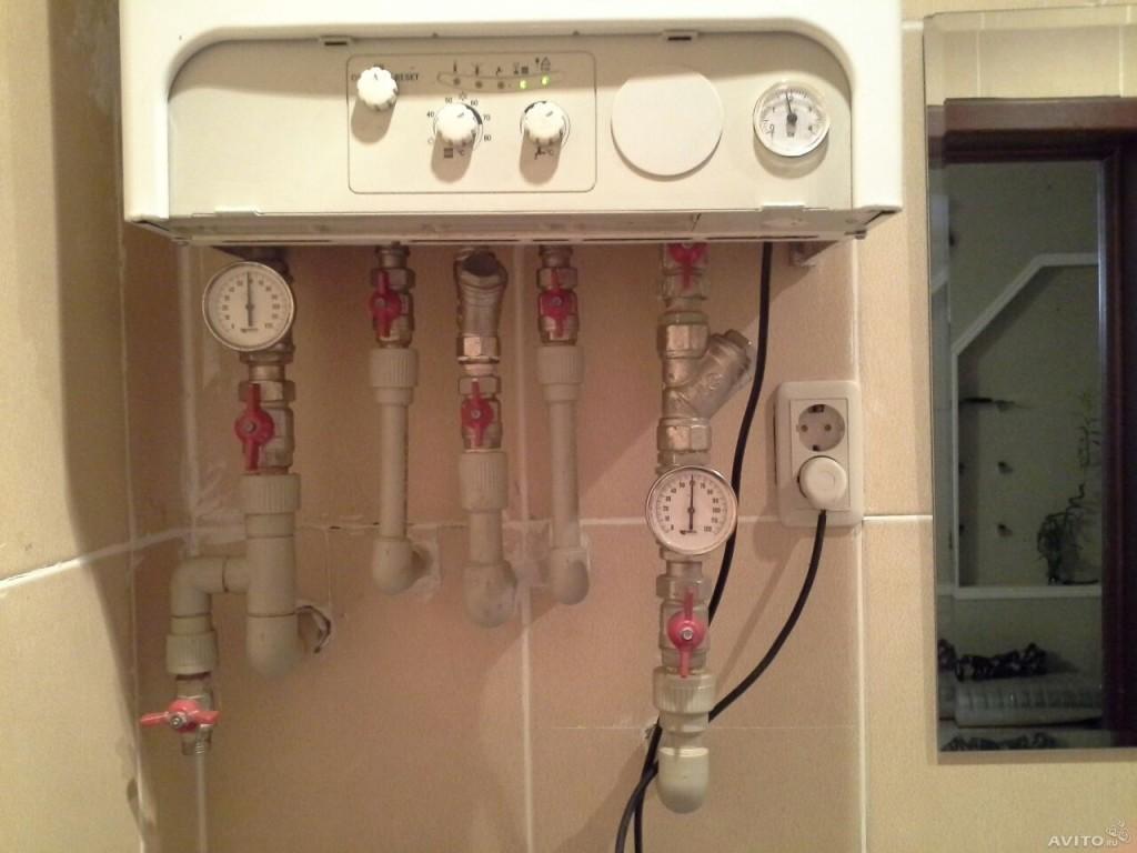 Современная система пластикового отопления