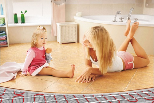 Теплый пол помогает создавать тепло и уют в Вашем доме.