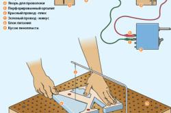 Схема резки пенопласта