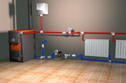 Заполнение водой системы отопления