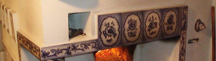 Чем покрасить печь - народные способы