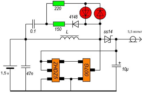 Схема светильника на солнечной батареи своими руками фото 748