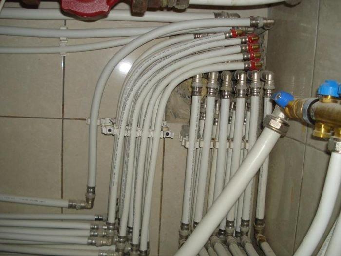 Соединение и установка металлопластиковых труб