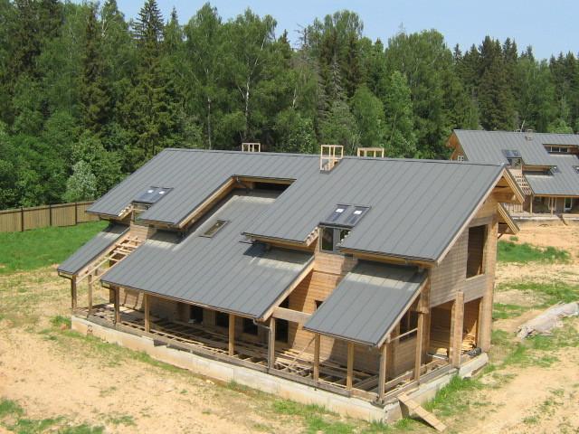 Односкатная крыша своими руками фото