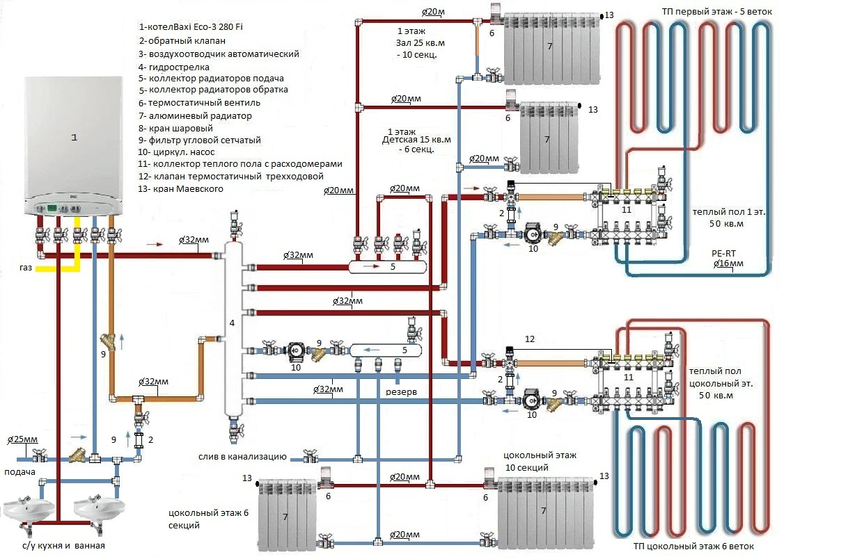 Закрытая схема горячего водоснабжения фото 378