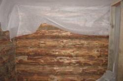 Пароизоляция стен сруба