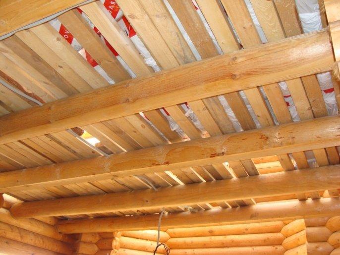 Утепление деревянного потолка своими руками 586