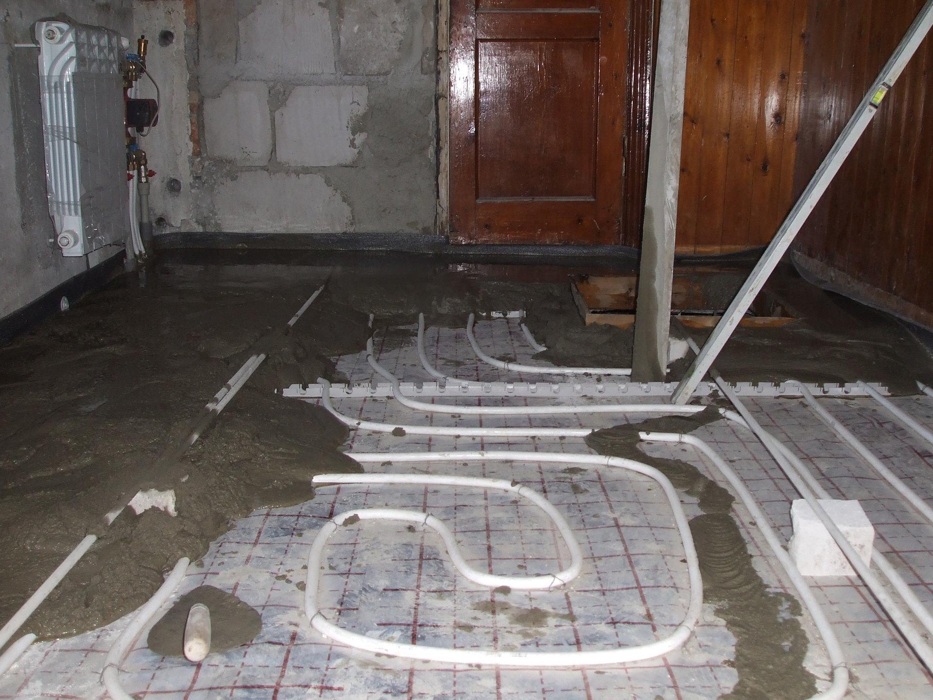Как сделать теплый пол от отопления фото 934