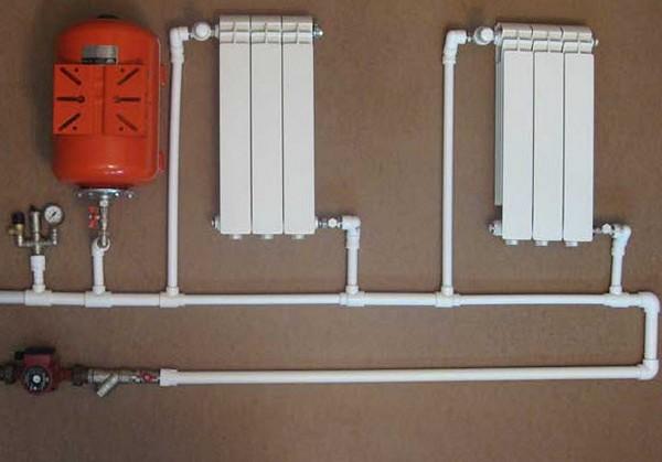 Как сделать отопление из полипропилена частного дома